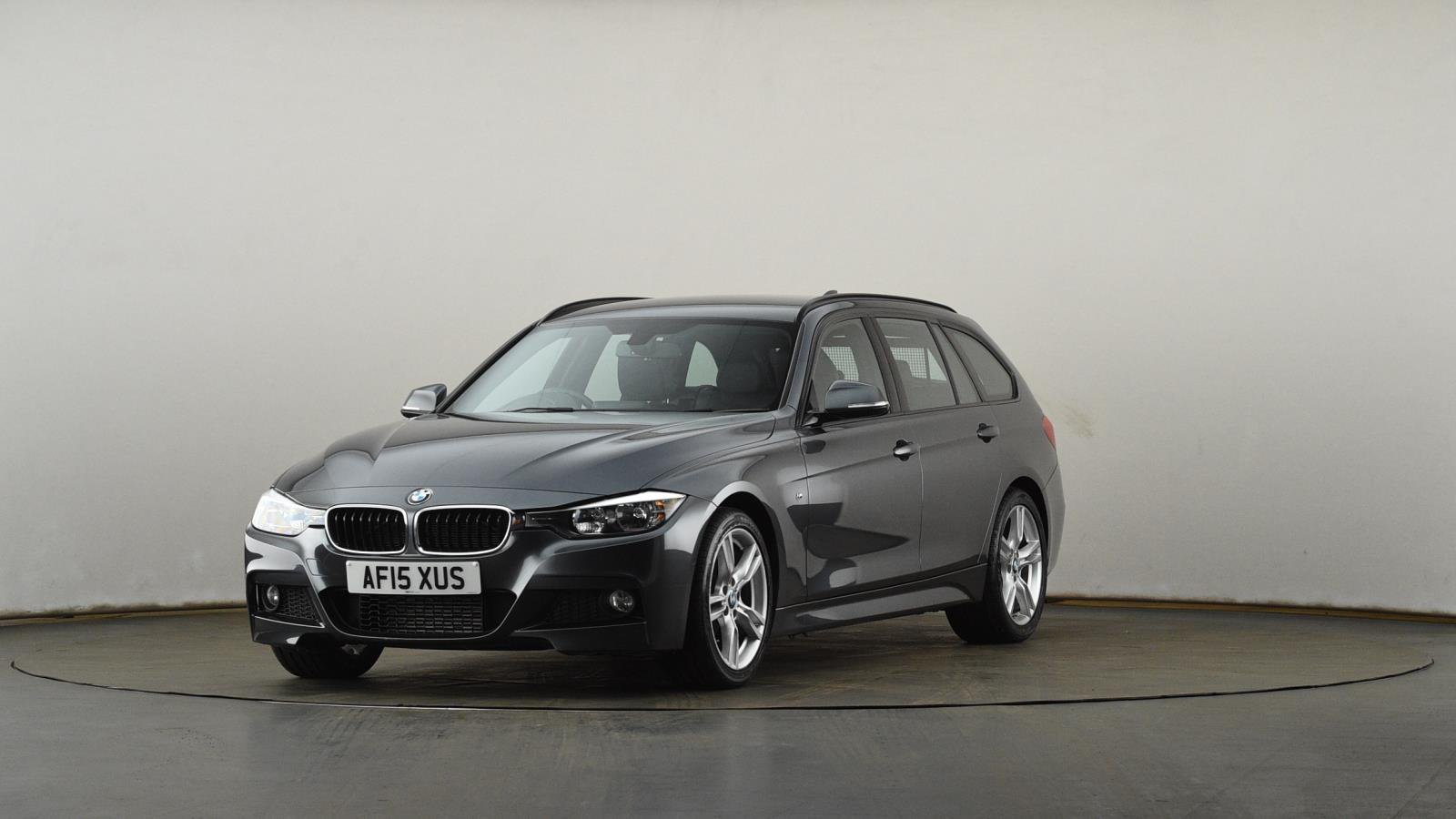 Used BMW 3 SERIES 320d M Sport 5dr Step Auto [Business Media] | Grey