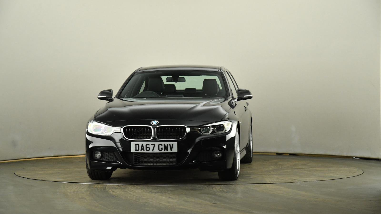 Used BMW 3 SERIES 320d M Sport 4dr Step Auto   Black