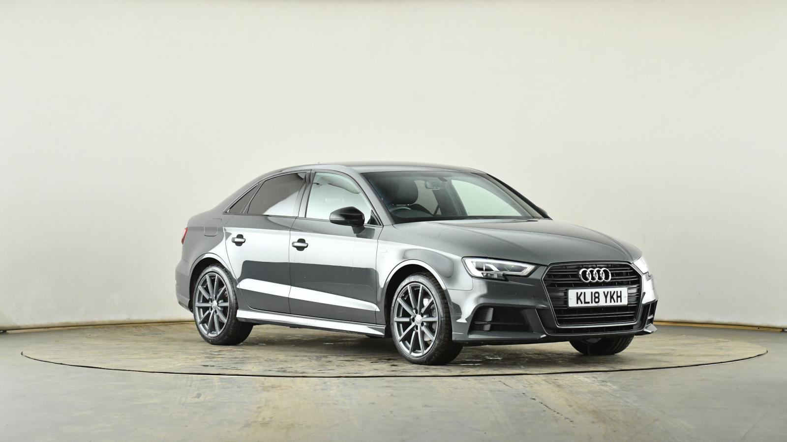 Used Audi A3 2 0 Tdi Black Edition 4dr S Tronic 7 Speed Grey Kl18ykh Norwich