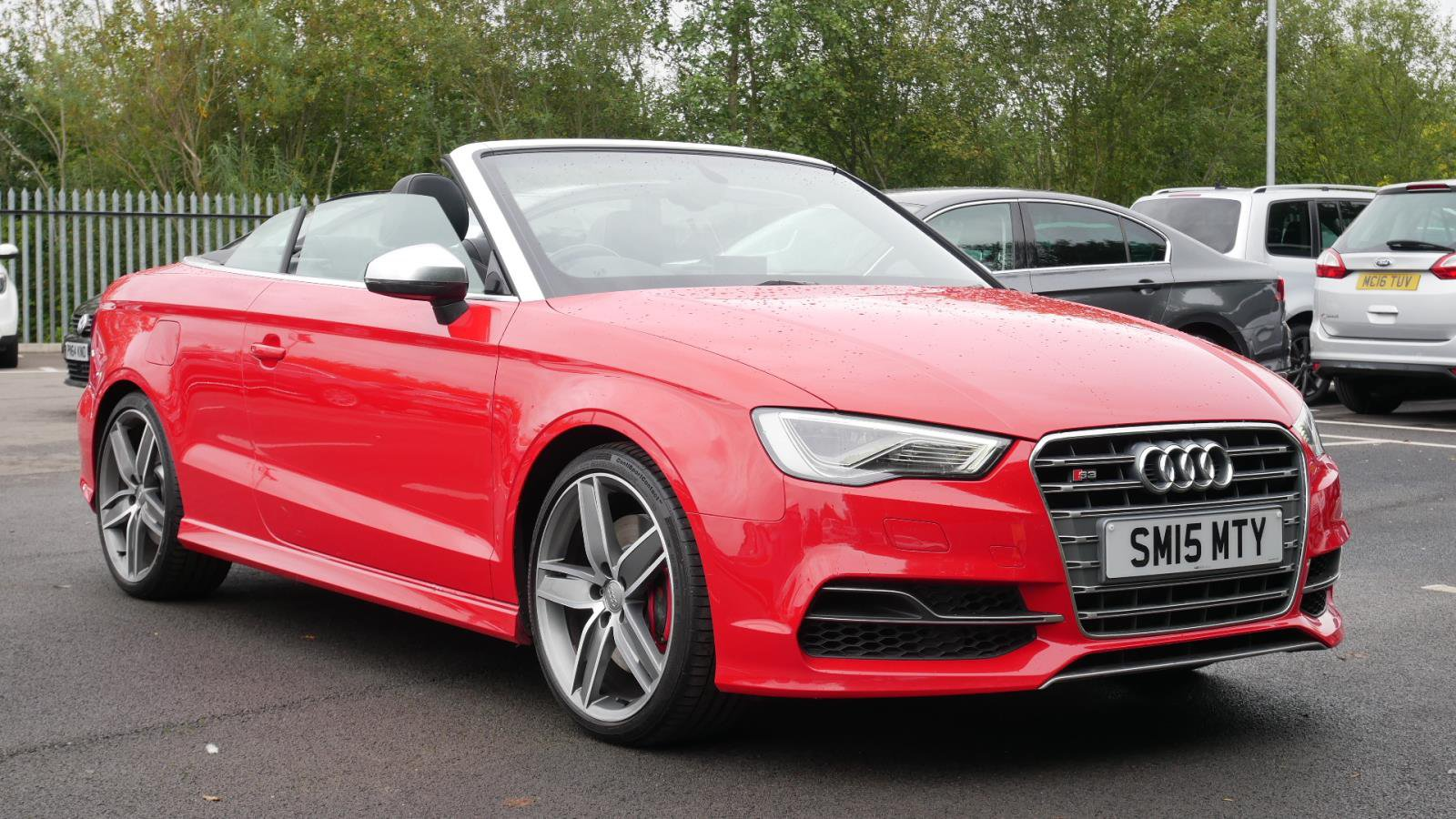 Used AUDI S14 S14 TFSI Quattro 14dr S Tronic   Red   SM14MTY ...   wakefield audi used cars