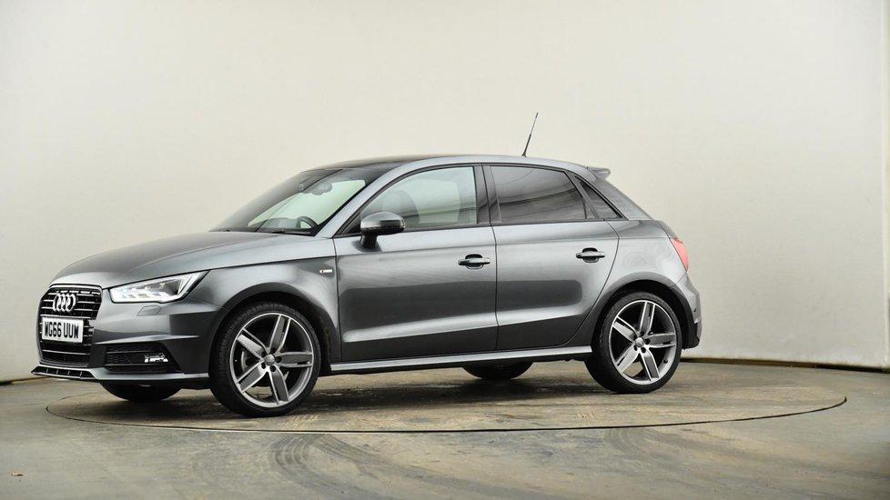 Used Audi A1 1 4 Tfsi 150 Black Edition 5dr S Tronic Grey Wg66uuw Cardiff