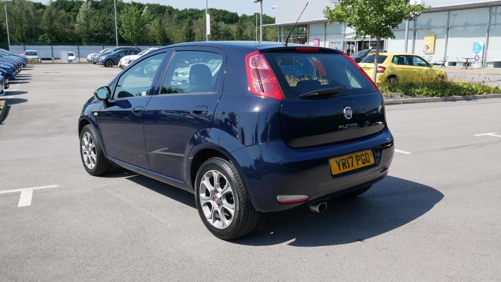Used FIAT PUNTO 1 2 Easy+ 5dr | Blue | YR17PGO | Sheffield